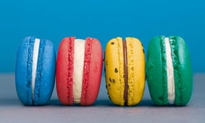 'Anyone for a colour-coded, political macaron?'