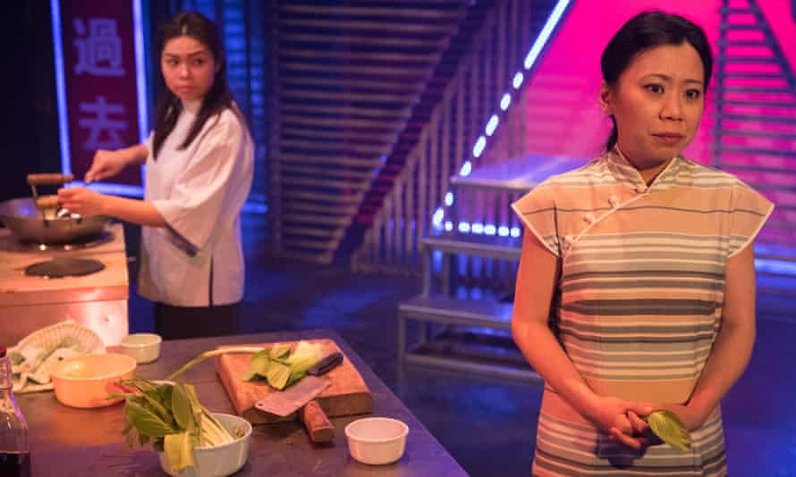 Intense emotions … Siu-See Hung as Helen and Tina Chiang as Lily.