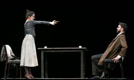 'Part-interrogation, part-courtship': Albane Carrére (Woman) and Romain Bockler (Man) in Senza Sangue