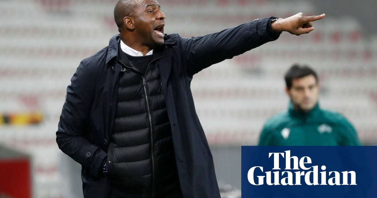 Crystal Palace in line to appoint Patrick Vieira as manager after agreeing terms