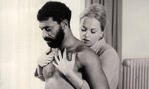El Hedi ben Salem and Barbara Valentin in Rainer Werner Fassbinder's Ali: Fear Eats the Soul.