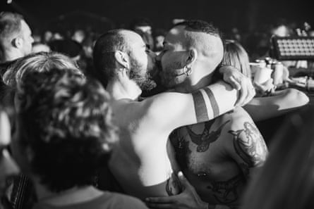 In the crowd at Homobloc festival 2019.