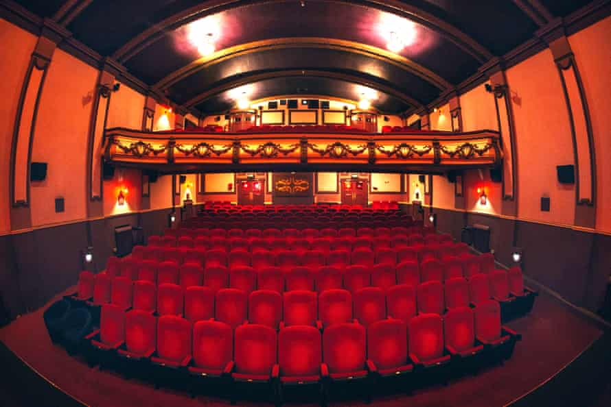 Auditorium of the Hyde Park Picture House, Leeds