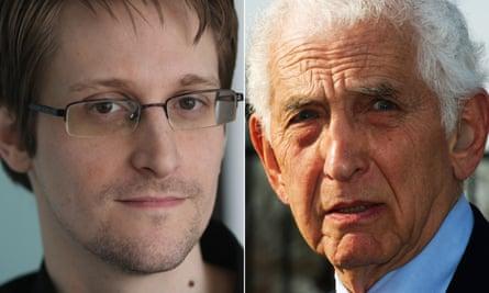 Worried about Trump's assault on press freedom … Edward Snowden and Daniel Ellsberg