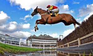 Native River in action at Newbury earlier this month.
