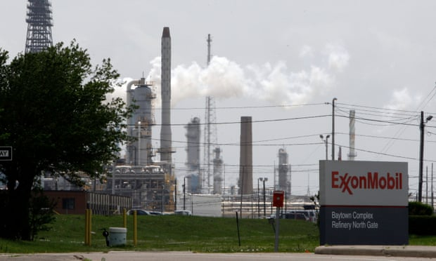 Exxon refinery in Texas