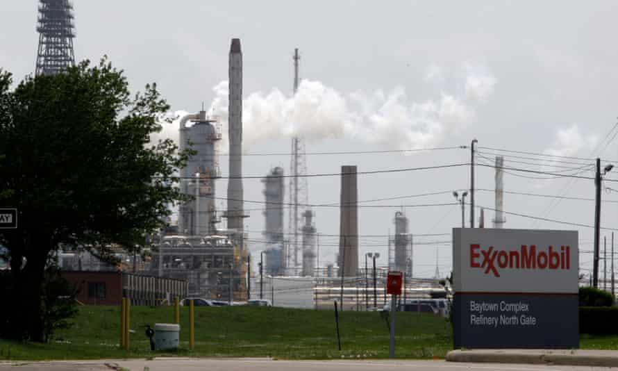 Exxon refinery in Texas