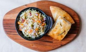 'Crisp and bright': sauerkraut.