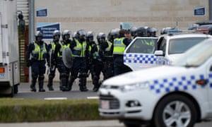 Melbourne Ravenhall Prison riot