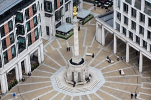 Te London Stock Exchange Group offices in Paternoster Square.