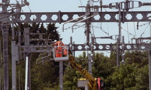 Rail electrification will help push the demand for electricity.