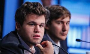 Magnus Carlsen v Sergey Karjakin