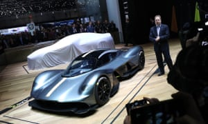Aston Martin's chief executive, Andy Palmer