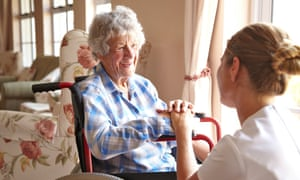 'Britain should be looking after its elderly people better,' the chairman of Four Seasons Health Care, Ian Smith, says.