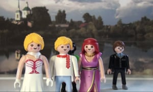 Michael Sommer's Playmobil cast for The Seagull to go.