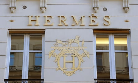 French luxury goods group Hermes has been forced to abandon its annual sales growth target.