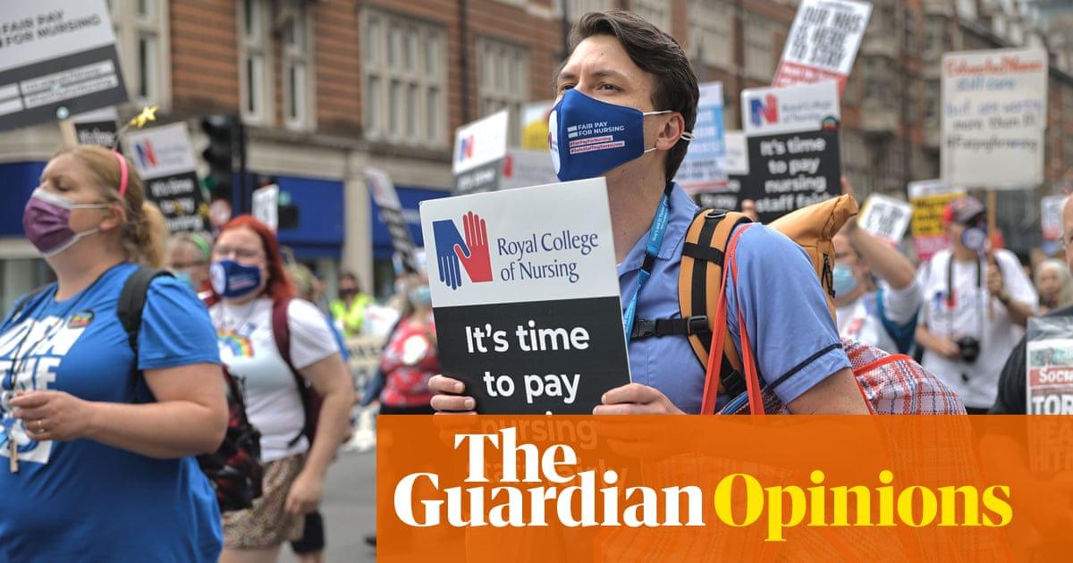 The government's '3% pay rise' is a cut in real terms for nurses
