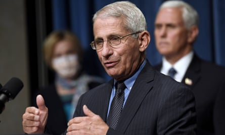 Fauci warned that other parts of the country may be on the cusp of growing outbreaks.