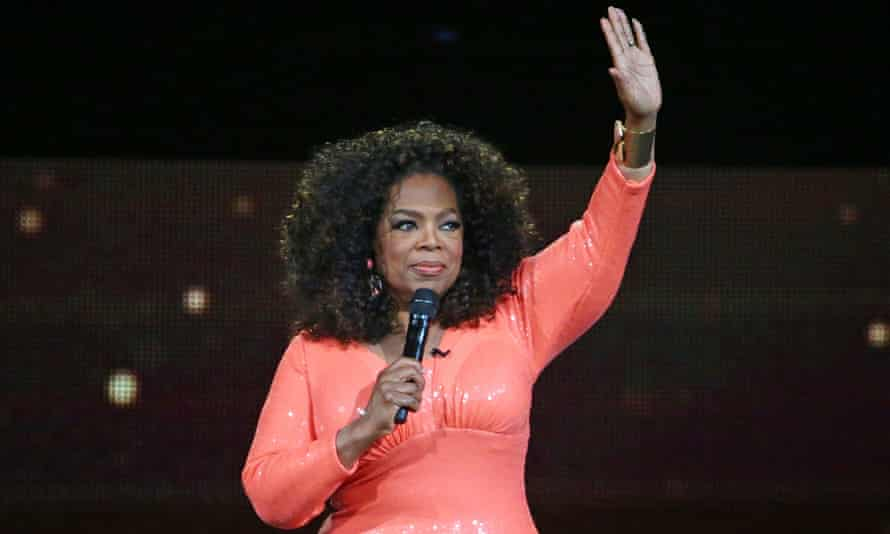 An Evening With Oprah - MelbourneMELBOURNE, AUSTRALIA - DECEMBER 02: Oprah Winfrey on stage during her An Evening With Oprah tour on December 2, 2015 in Melbourne, Australia. (Photo by Scott Barbour/Getty Images)