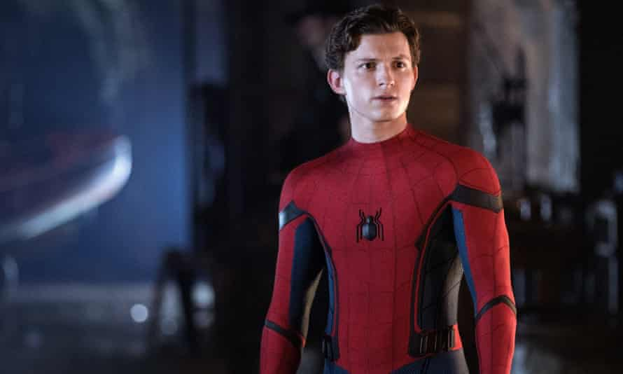 Tom Holland in Spider-Man: Far From Home.