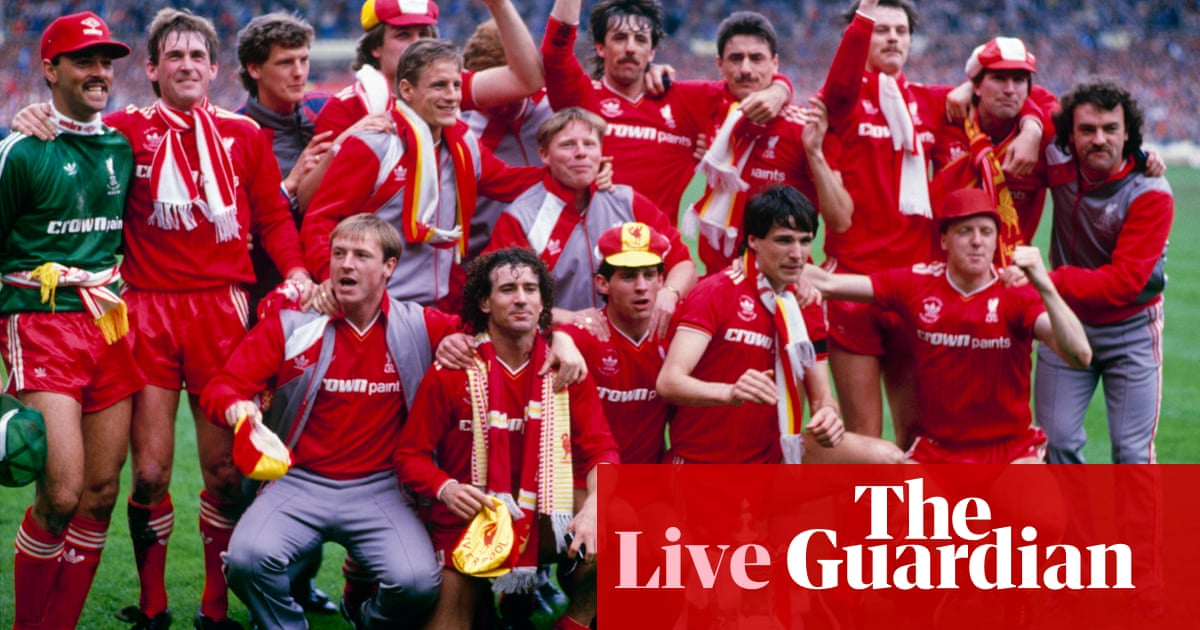 Everton 1-3 Liverpool: 1986 FA Cup final – as it happened