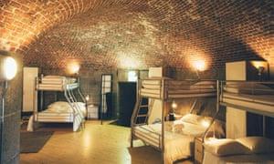 A dorm at Drift Retreat, Jersey