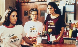 a movie still from mystic pizza