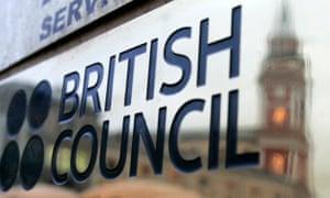 British Council building plaque