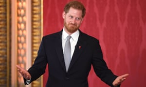 Prince Harry hosts the Rugby League World Cup draws at Buckingham Palace.