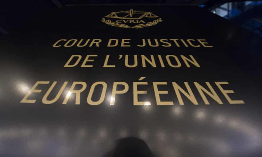 The European court of justice.