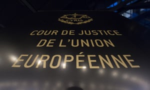 The European court of justice in Luxembourg.