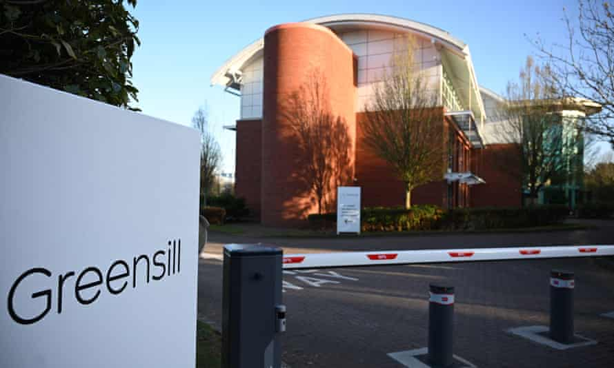 Greensill Capital's offices near Warrington, Lancashire.