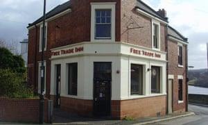 Free Trade Inn, Ouseburn, Newcastle.
