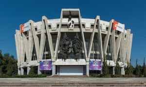 Moldova's State Circus Building, in the country's capital, Chisinau.