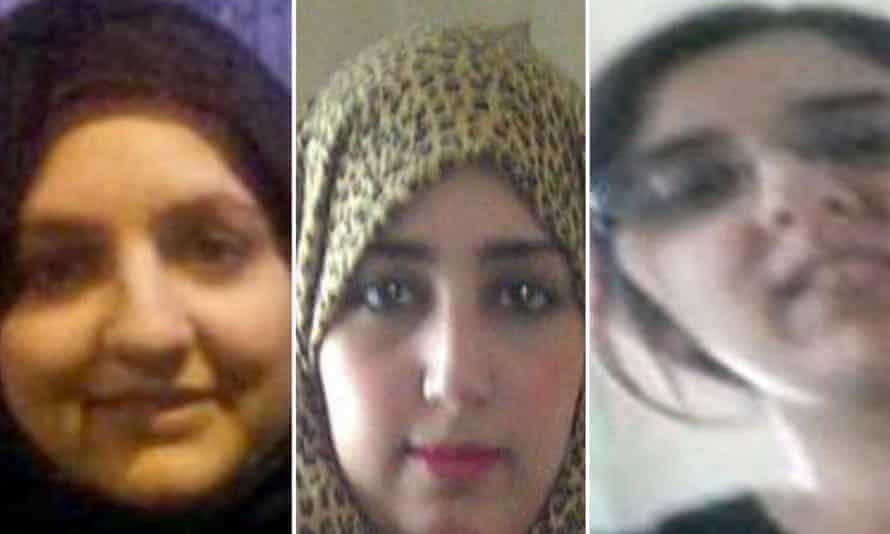 Sisters Zohra, Khadija and Sugra Dawood