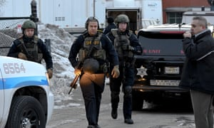 According to Aurora police lieutenant Rick Robertson, the response included eight Swat teams and more than 300 officers.