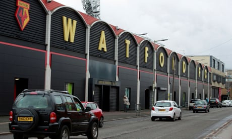 Watford chairman questions integrity of 'distorted mini-league' at neutral venues