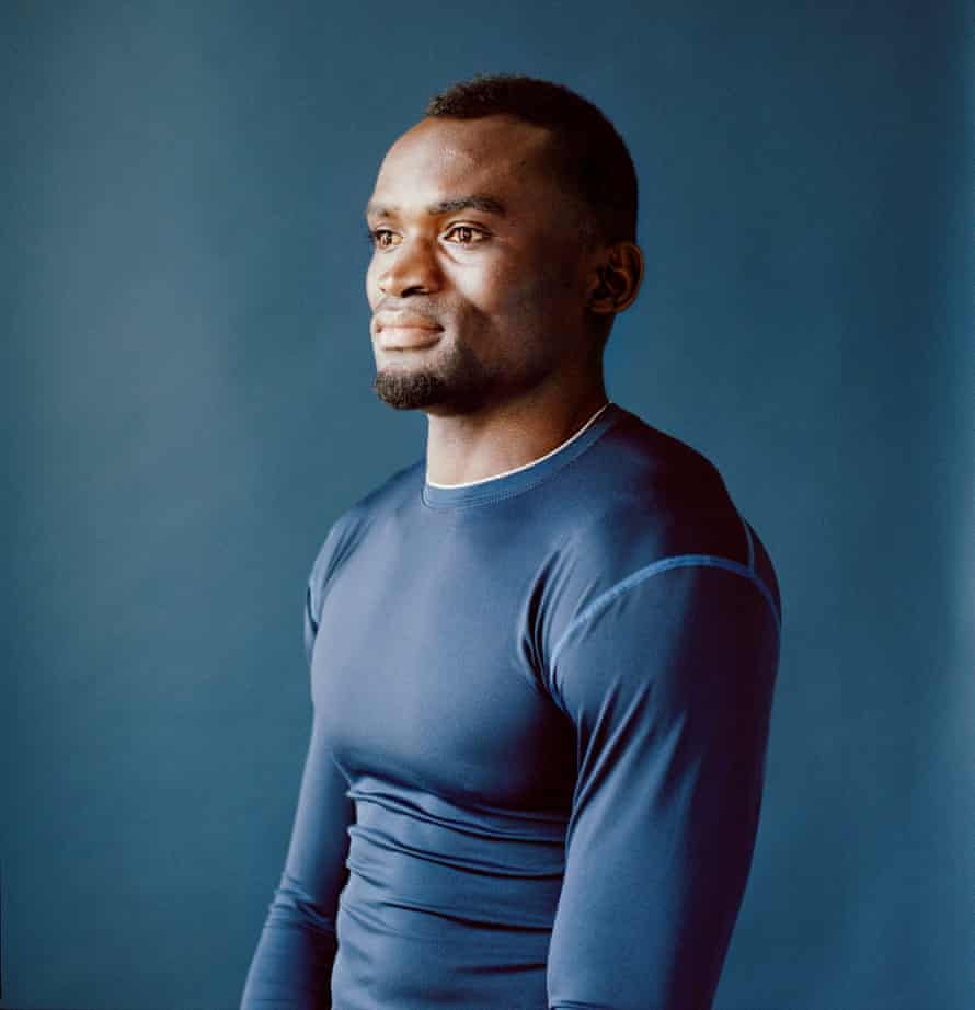 Jimmy Thoronka was Sierra Leone's number one 100m sprinter.