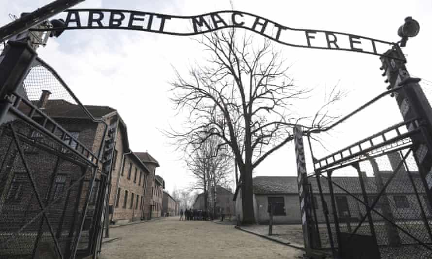 The Auschwitz-Birkenau concentration camp in Oświęcim, Poland