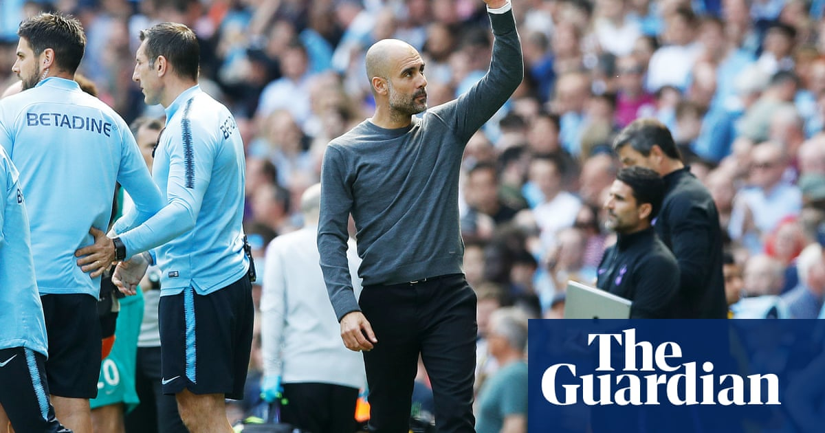 Guardiola accepts Manchester City's win over Spurs 'not our best performance' – video