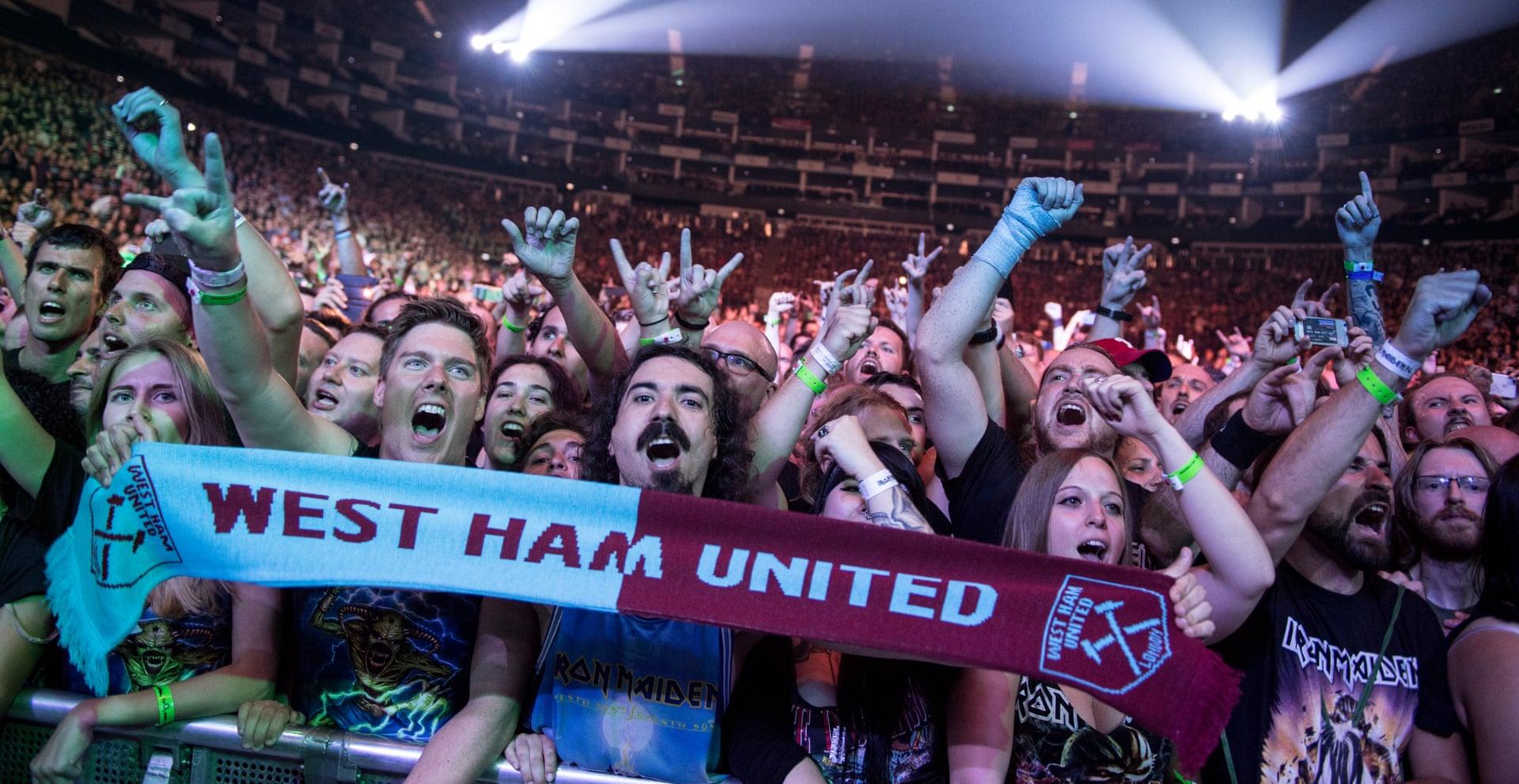Iron Maiden x West Ham United
