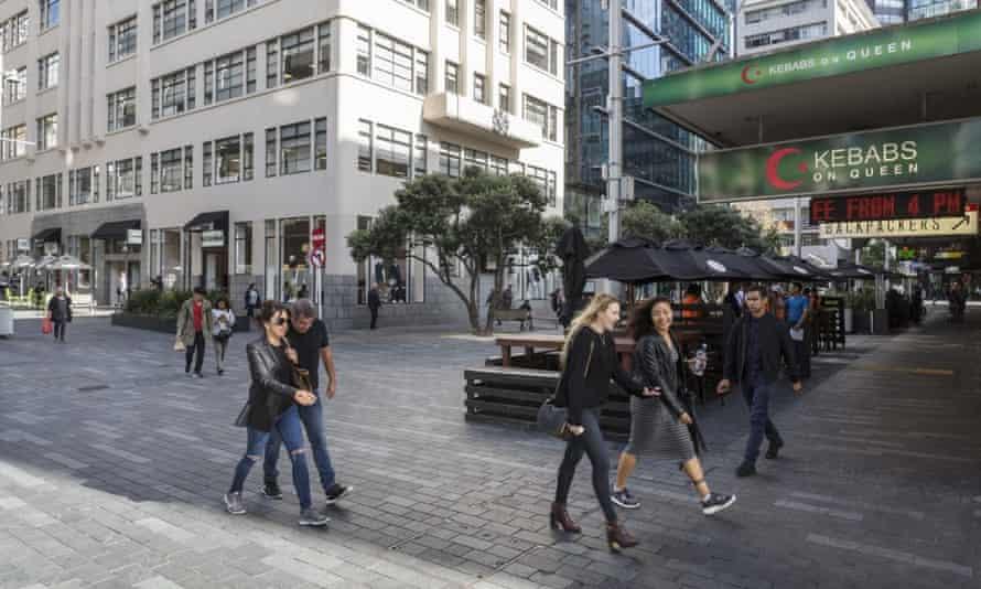 Fort street pedestrianised area, Auckland
