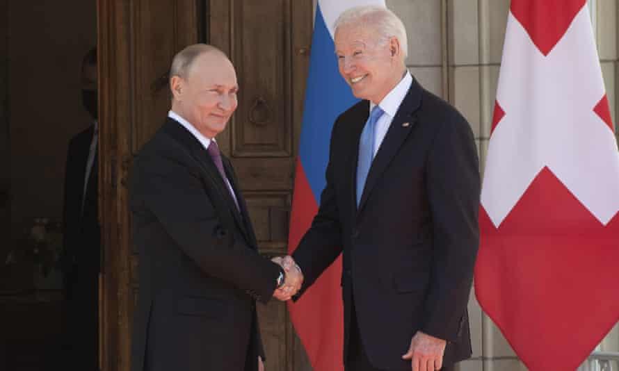 Picture of the week 2: Vladimir Putin and Joe Biden