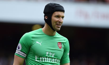 Petr Cech in online spat with Bayer Leverkusen over Twitter remarks