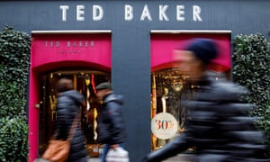 A Ted Baker store in London. The chain's sales started declining in 2017.
