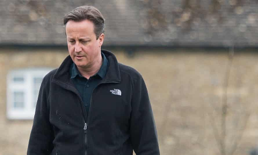 David Cameron, whose constituency, Witney, is in Oxfordshire.