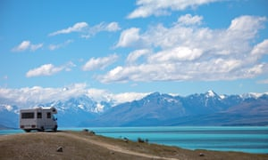 Mount Cook national park in New Zealand.