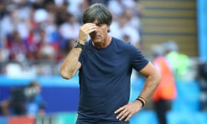 Joachim Löw would be a sitting duck if he decided to continue as Germany manager following their group stage exit at the World Cup