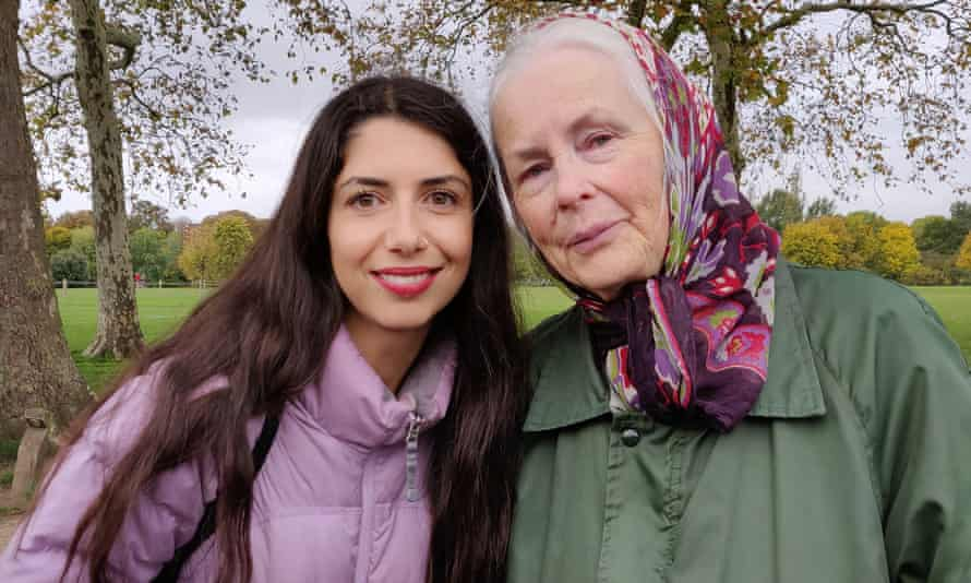 Sirin Kale with Elizabeth, the friend she made on a ramble with a walking group.