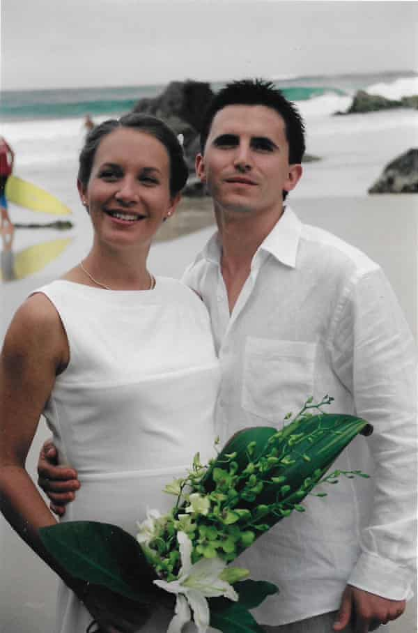 Valentino and Carly Giannoni Feb 2003 - Our Wedding at Byron Bay